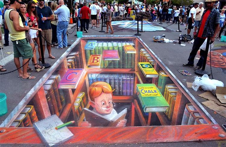 Sarasota Chalk Festival 2011: Best International Artwork