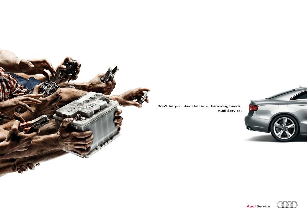 Audi Service 2015 Ad Campaign