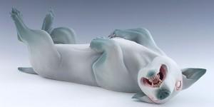 Erika Sanada's Beautifully Creepy Sculptures Of Mutant, Dream-like Animals