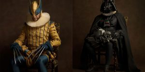 French Photographer Sacha Goldberger Takes Our Favorite Superheros Back In Time