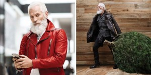 This Fashion Santa Is Blowing Up The Internet With His Dashing Looks