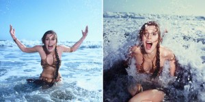 """10 Photos Of Carrie Fisher Promoting """"Return Of The Jedi"""" At A Rolling Stone Magazine Beach Shoot, 1983"""