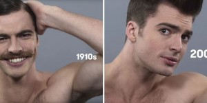 How Male Beauty Standards Have Changed Over 100 Years