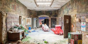 This Is What A Psychiatric Hospital That Has Been Abandoned For Years Looks Like
