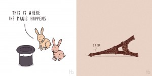 Cute And Clever Illustrations By Jaco Haasbroek