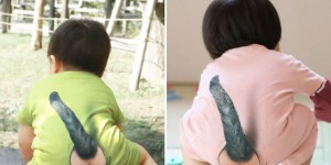This Bizarre Romper Gives Your Baby A Cat's Tail From Behind!