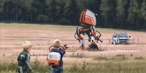 Childhood Of Tomorrow: The Incredible Surreal Art Of Simon Stålenhag