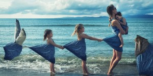Creative Father Puts His 3 Adorable Daughters Into Funny, Eclectic Photo Manipulations