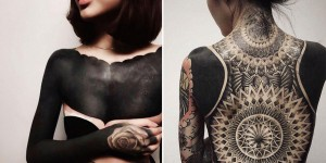 Blackout Tattoos Are A Bold New Trend Popping Up Around The World