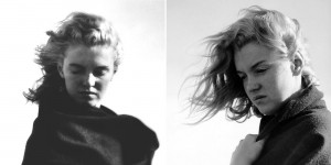 Beautiful Rare Black And White Photographs Of 20 Year Old Norma Jeane Dougherty (Later Marilyn Monroe) On Malibu Beach In 1946