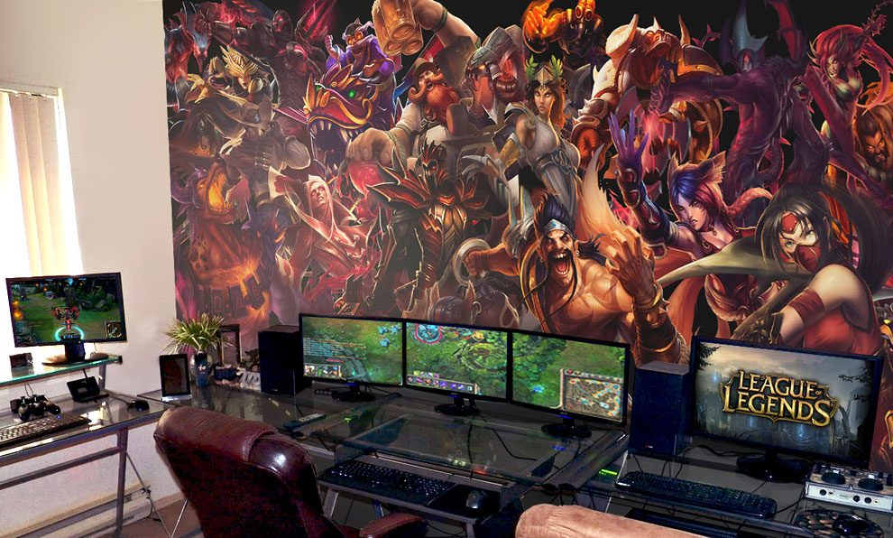 Epic Video Game Room Decoration Ideas From Pixers