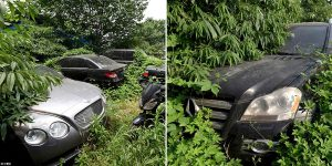 Inside China's Trash Park Where Bentleys And Mercedes Worths Millions Are Abandoned By Their Rich Owners