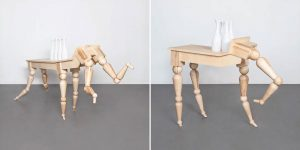 An Artist Has Created This Elegant Table Inspired By The Horse