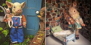 Toys In The Basement: Beautiful Creepy Dolls By Annie Montgomerie