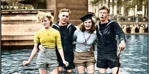 Breathtaking WWII Colorized Photos Look Like They Were Taken Yesterday