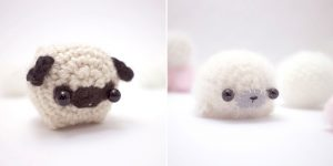 Tiny Miniature Crochet Animals By Mohustore