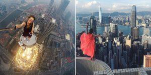 Meet Angela Nikolau, The Russian Girl Who Takes The World's Riskiest Photos