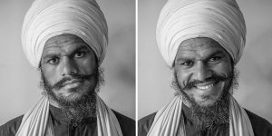 Contrasting Portraits Show How A Smile Can Change Your Perception Of Someone