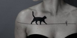 Simple, Ingenious, And Amusing: Blackwork Tattoos By Ilya Brezinsk