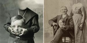 Before The Photoshop: Headless Portraits From The 19th Century