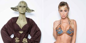 Playboy Model Sara Jean Underwood Dresses Up As Your Favorite Star Wars Characters