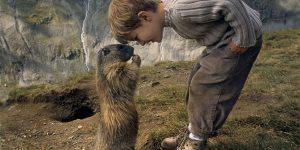 Adorable Photos Of A Young Austrian Boy Enjoys A Special Friendship With Shy Marmots
