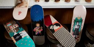 """""""The Ollies Are Not What They Seem"""" - """"Twin Peaks"""" Now Has Its Own Skateboard Line"""