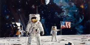 """""""Pioneering The Space Frontier"""" - An Otherworldly Art Of Robert McCall"""