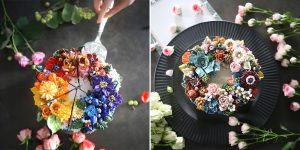The Seoul-Based Pastry Chef Creates Buttercream Floral Cakes That Look Too Beautiful To Eat