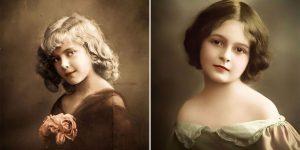 Lovely Colorized Photos Of Edwardian Little Girls That May Make You Amazed