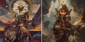 """""""Angels And Demons"""": The Superb Digital Concept Art Of Peter Mohrbacher"""