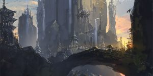 """Under A Darkening Sky"": The Superb Sci-Fi Concept Art By J.C. Park"