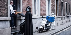 """""""The Empire Against The Crisis"""": Darth Vader Forced To Do Odd Jobs"""