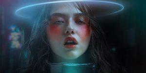 """Lamb Of Future"": Cyberpunk Noire Fashion Collages By Alexander Berdin-Lazursky"