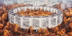 Bublik – Circular Apartment Building In Moscow Is The Pinnacle Of Brutalism
