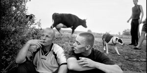 American Photographer Bruce Gilden Documents The Wildlife Of The Russian Gangsters
