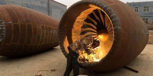 Chinese Men Build Homemade Airbus A320 Passenger Jet