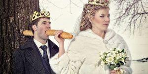 Thank You, Photoshop... Russian Wedding Photos Are Bizarre