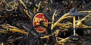 China's Bike-Sharing Graveyards