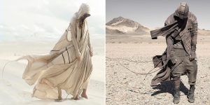 A Wind From The Future World: Amazing Post-Apocalyptic And Futuristic Outfits By Demobaza