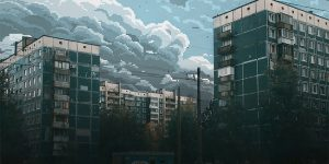 Artist Imagines What Russian Skies Would Look If They Were In 8-Bit