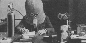 The Isolator: This Insane Anti-Distraction Helmet From 1925 Would Fit Into Any Modern Open Office