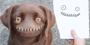 Dad Continues To Recreate Son's Adorable Drawings Into Hilarious Real-Life Counterparts