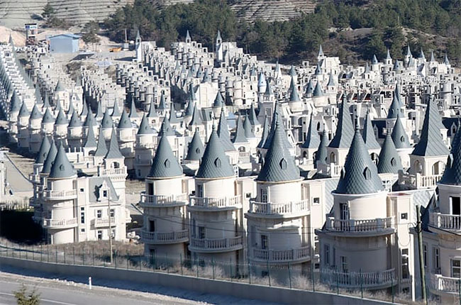 Welcome To Burj Al Babas The Luxury City Of Empty Castles