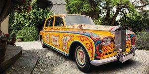 The Story Behind John Lennon's Psychedelic Rolls-Royce Phantom V
