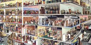 The Industrial Cutaways Of Frank Soltesz: Amazing Cross Sections Of Modern Life From The Mid-20th Century