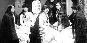Outrageously Long Hair Of The Victorian Era Will Make You Gasp