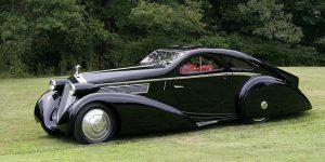 This Brutal 1925 Rolls Royce Phantom I Jonckheere Coupe