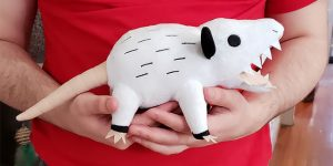 Your Very Own Opossum: An Adorable Opossum Plush, Screaming Just For You