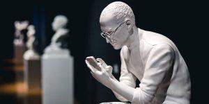Artist Sebastian Errazuriz Makes Classical Sculptures Of Mark Zuckerberg, Elon Musk, And Jeff Bezos